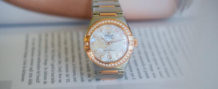 欧米茄星座系列曼哈顿29mm女士腕表------给媳妇儿买这表准没错儿