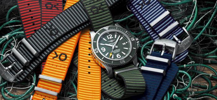 百年灵与OUTERKNOWN合作推出全新超级海洋系列腕表及革新的NATO表带