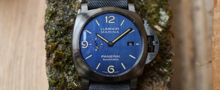 """沛纳海Luminor系列Marina """"Bucherer BLUE""""腕表------强强联手的胖大海"""