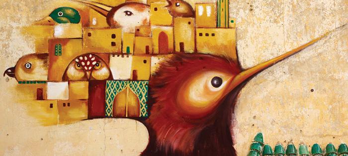 """雅克德罗(JAQUET DROZ)鼎力支持两位拉夏德芳艺术家开展的宏大绘画项目( """"URBAN ODYSSEY"""" )"""