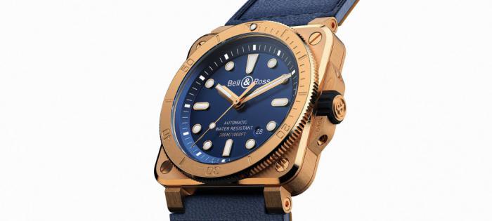 柏莱士BR 03-92青铜潜水表再度换上海军蓝表盘
