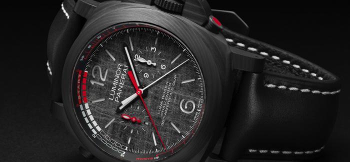 沛纳海推出三款全新LUMINOR LUNA ROSSA庐米诺系列腕表