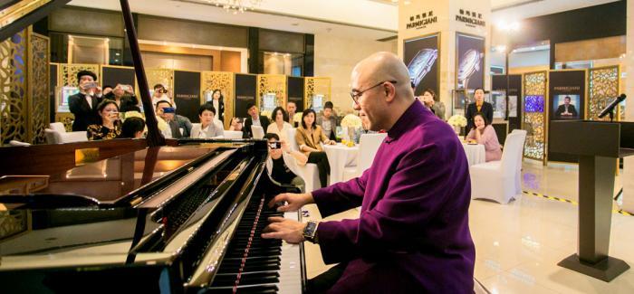 钢琴表演艺术家孔祥东先生演绎帕玛强尼时间艺术