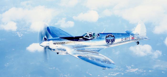 """IWC万国表""""银翼喷火战斗机之最长的飞行""""抵达缅甸"""