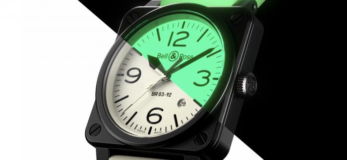 Bell & Ross柏莱士推出全新BR 03-92 Full Lum限量腕表