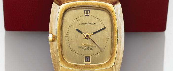 欧米茄Electroquartz f8192腕表的历史