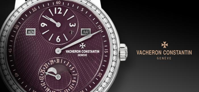 江诗丹顿推出Les Cabinotiers阁楼工匠三针一线万年历珠宝腕表