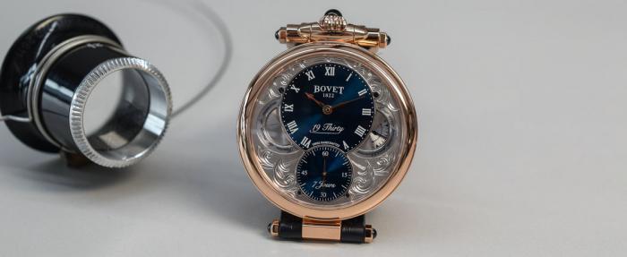 """播威19Thirty Fleurier玫瑰金腕表------你确定这是""""日常用表""""?"""