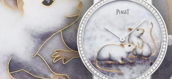 伯爵携手珐琅彩绘大师Anita Porchet推出Altiplano鼠年生肖表