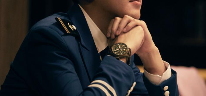 IWC万国表品牌挚友张若昀本色出演自在少年