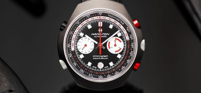 汉米尔顿推出CHRONO-MATIC 50腕表