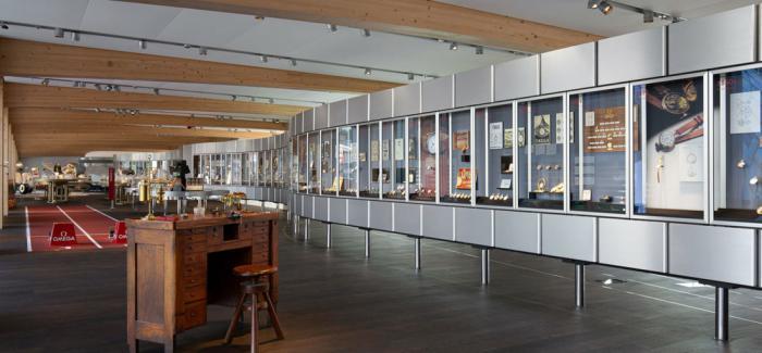 探索面向公众开放的全新欧米茄互动博物馆