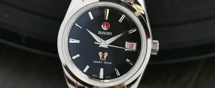 """雷达金马系列1957限量版腕表------""""活的像风,自由并从容"""""""