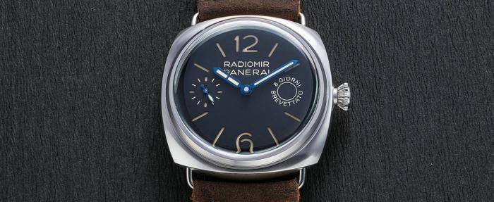 沛纳海Radiomir 8日链PAM00992腕表------复古元素大杂烩