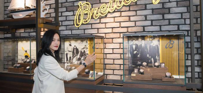 百年灵品牌巡展杭州站正式揭幕