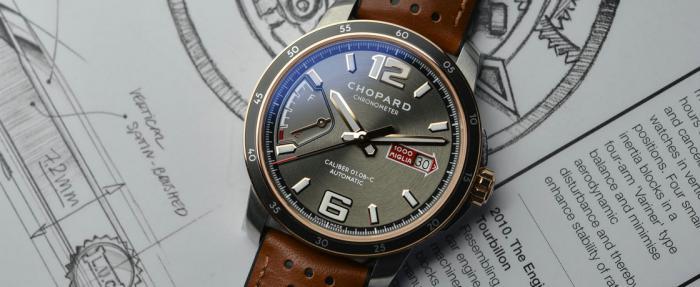 萧邦Mille Miglia GTS Power Control腕表------不拼速度拼风度