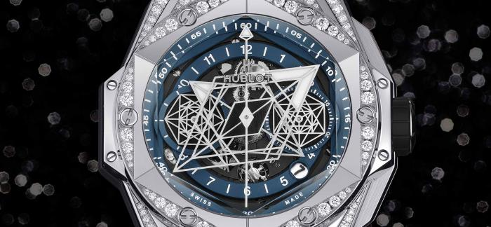HUBLOT宇舶表发布BIG BANG SANG BLEU II  刺青限量版腕表