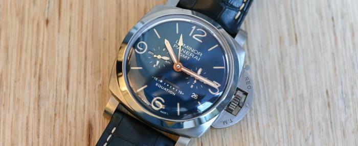 """沛纳海Luminor系列""""时间等式""""PAM00670 Titanio腕表------硬汉派的诗意柔情"""