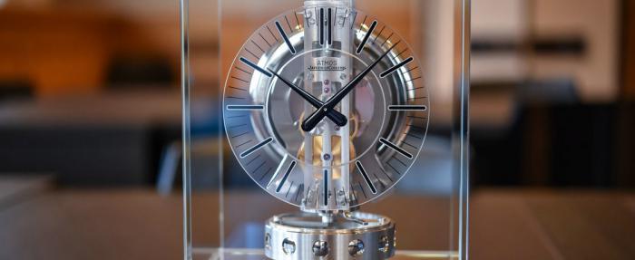 积家Atmos Transparente透明空气钟------永动机真的存在?