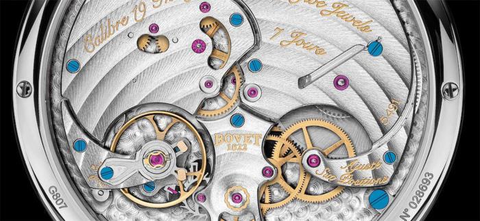 "BOVET播威发布饰有漆面""Fleurisanne""雕刻的Fleurier 19Thirty腕表"