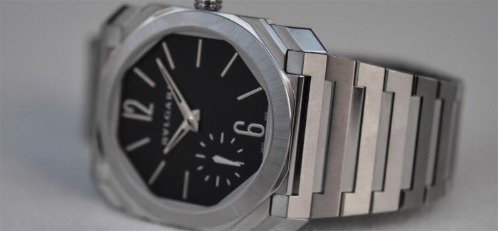 可能是最成功的Octo Finissimo-新款宝格丽Octo Finissimo Automatic缎面抛光精钢腕表