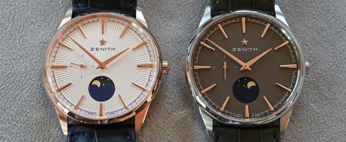 真力时Elite系列Moonphase腕表------整过容的就是不一样
