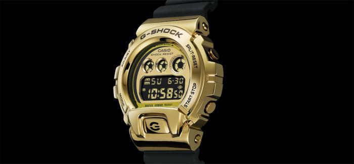 卡西欧G-Shock推出带有金属边框的6900系列三枚腕表