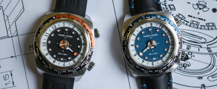 Favre-Leuba Raider Harpoon 42mm腕表------一根指针的潜水表