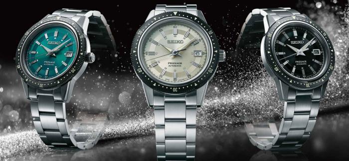 """致敬1964年的""""皇冠计时码表"""",精工发布三枚Presage 2020限量版日历腕表"""