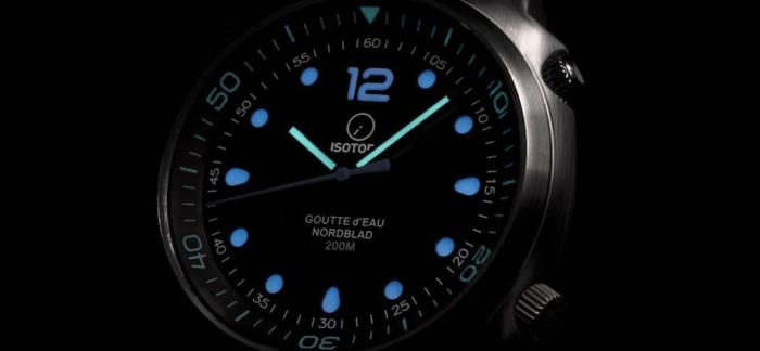 英国小众品牌Isotope Goutte d'Eau潜水表点评