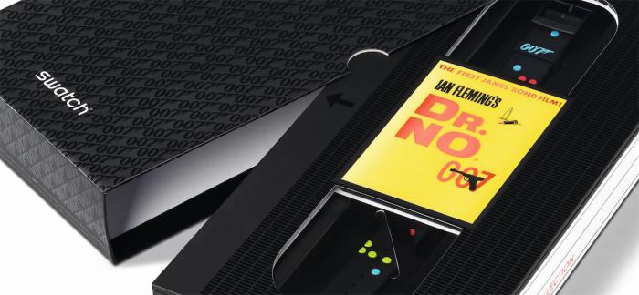 SWATCH推出全新007詹姆斯 · 邦德特别款腕表系列