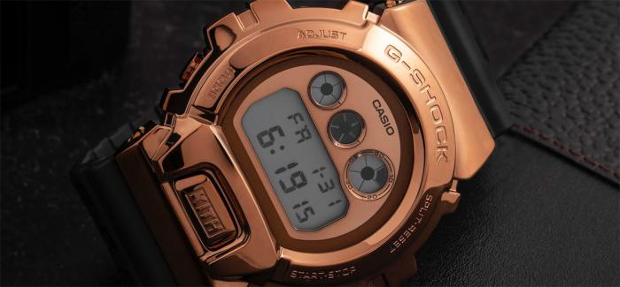 G-SHOCK宣布与潮牌KITH展开伙伴关系推出首款采用金属表圈设计的GM-6900