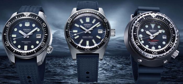 独家点评精工新发布的潜水腕表55周年纪念三部曲-SLA037,SLA039,SLA041
