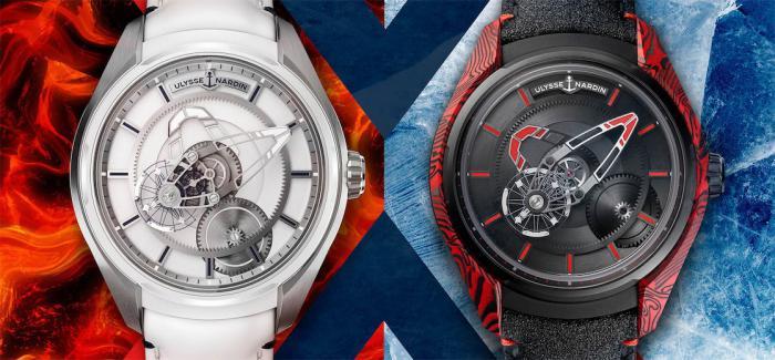 雅典发布全新奇想系列FREAK X岩浆腕表和FREAK X冰川腕表