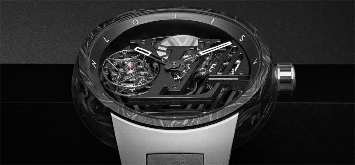 路易威登Tambour Curve Flying Tourbillon日内瓦印记腕表