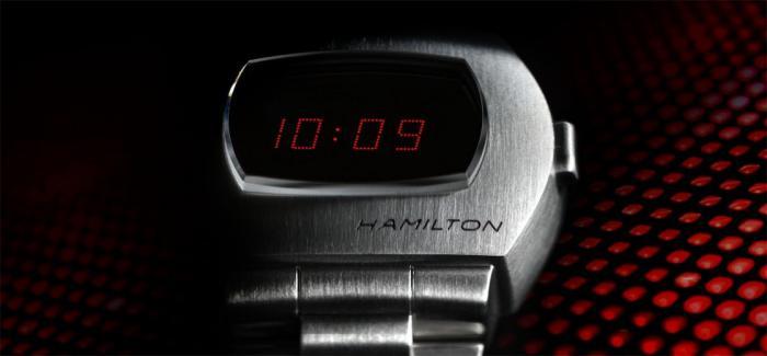 汉米尔顿推出新款普尔萨Pulsar腕表