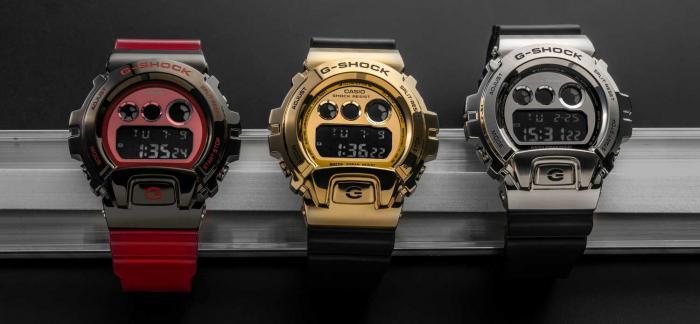 G-SHOCK 6900系列换新装,高端街头金属风潮