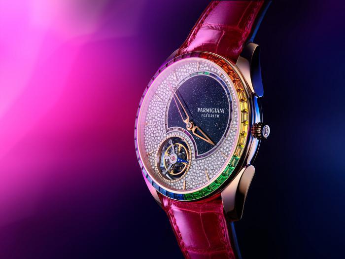 帕玛强尼发布通达系列 (Tonda Collection) 1950双彩虹飞行陀飞轮腕表