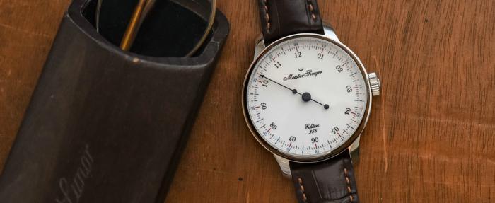 MeisterSinger Edition 366腕表——蹭个闰年的热度