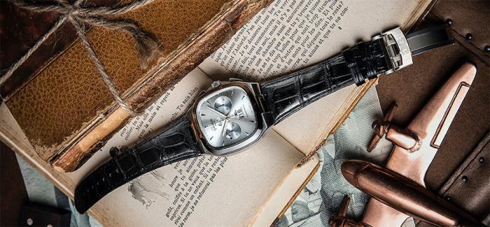 格拉苏蒂原创七零年代大日历计时腕表