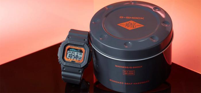 G-SHOCK与MADNESS推出联名表款GLX-5600MAD19