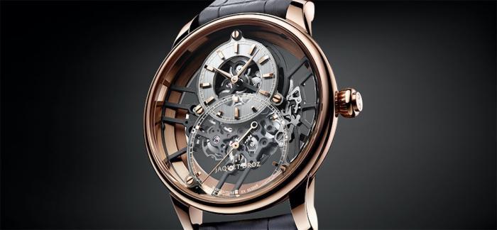 雅克德罗发布两枚大秒针镂空ONE腕表