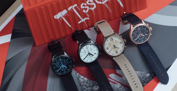 TISSOT天梭表携手陈飞宇首次直播发布速驰系列新品