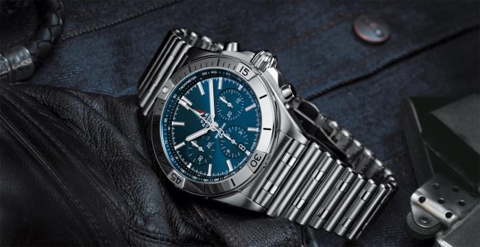 百年灵全新机械计时系列腕表(CHRONOMAT): 全能运动腕表,满足您的所有追求