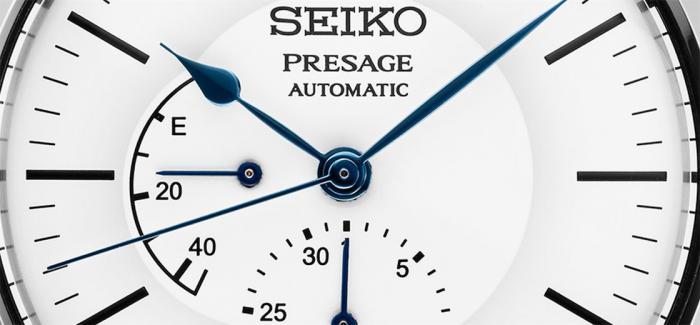SEIKO精工Presage系列发布SPB161和SPB163蓝白两色珐琅盘腕表