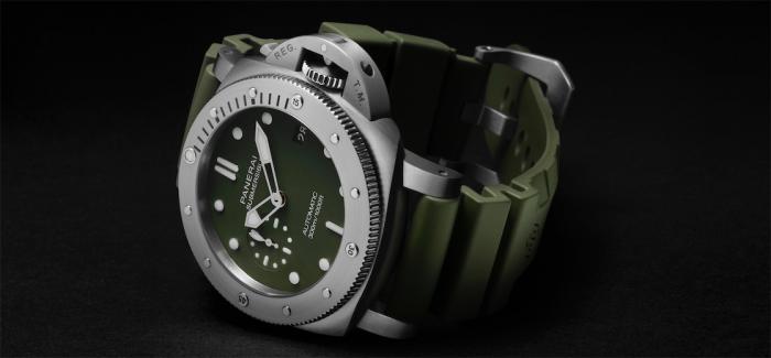 本色回归,限时芯动! 沛纳海Submersible潜行系列军绿色腕表