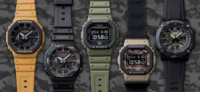 千元预算推荐G-SHOCK DW-5600和GA-2100等军事风格表