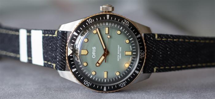 豪利时与日本著名牛仔品牌桃太郎推出联名版腕表