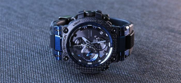 独家点评2020款G-Shock MT-G碳纤维腕表MTGB1000XB-1A
