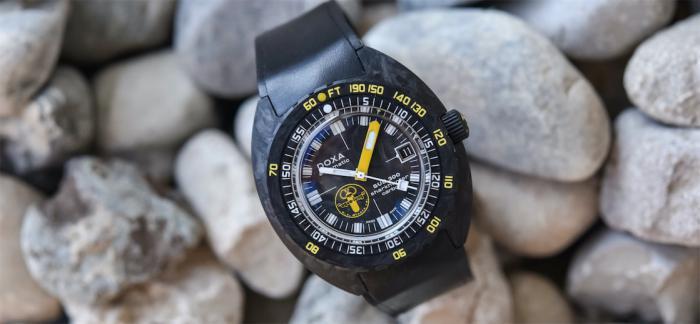 独家点评DOXA时度SUB 300锻造碳美国潜水员限量腕表